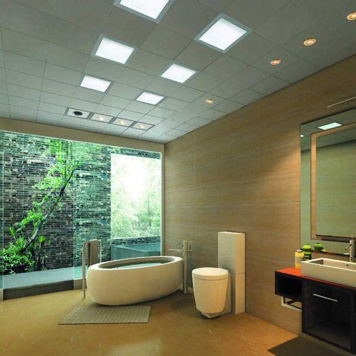 清新自然简约风格卫生间设计