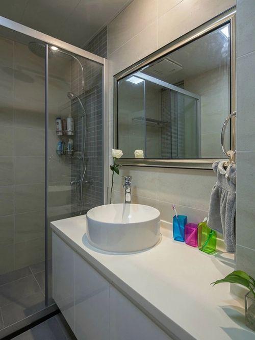 2016现代简约卫生间装修案例