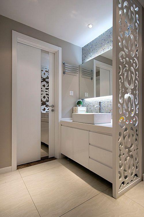 简约风格时尚卫生间美图欣赏
