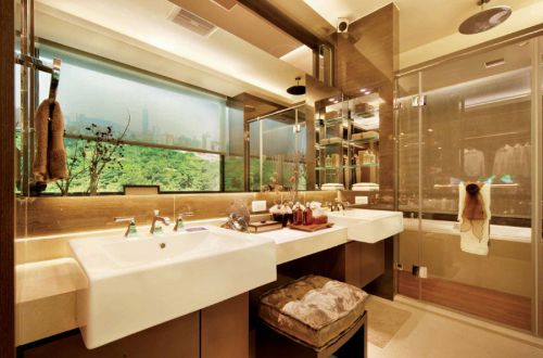 现代大气奢华雅致卫生间装潢