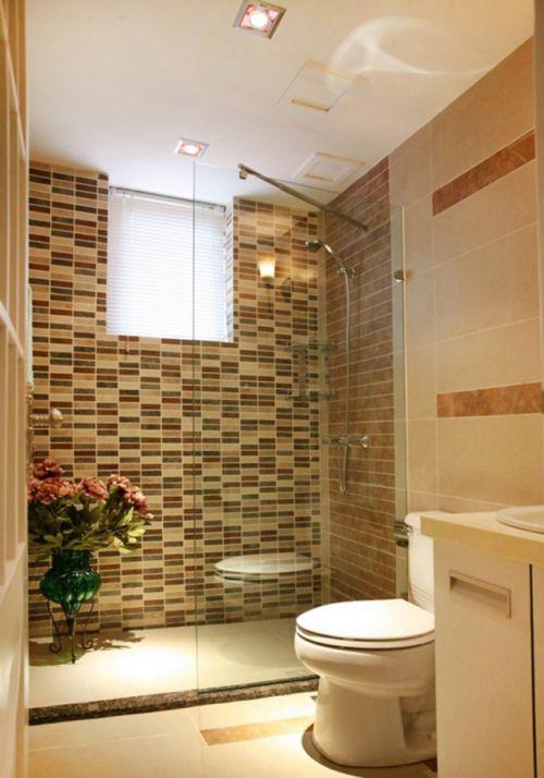 现代简约风格卫生间装修设计