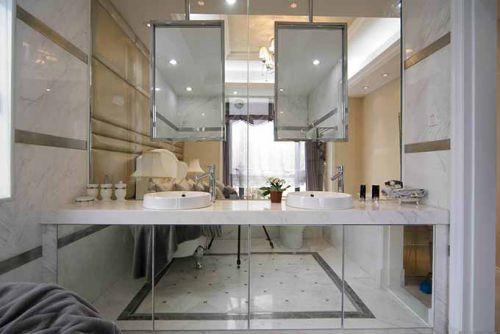 现代卫生间装潢设计