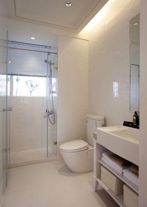 现代风格卫生间装修美图欣赏