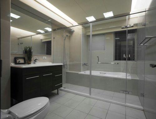 2016现代风格灰色卫生间图片欣赏