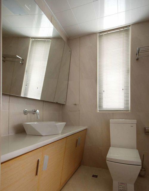 简洁现代卫生间设计欣赏