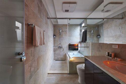 2016米色现代风格卫生间设计装修