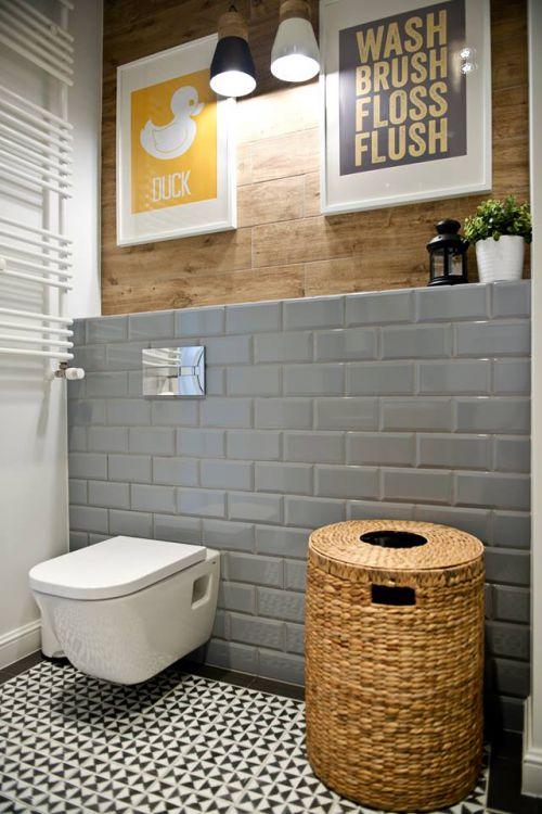 灰色时尚现代卫生间欣赏