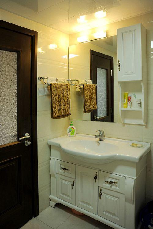 中式风格简洁卫生间欣赏