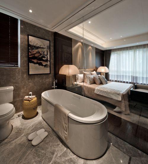 中式风格家居卫生间室内设计效果图