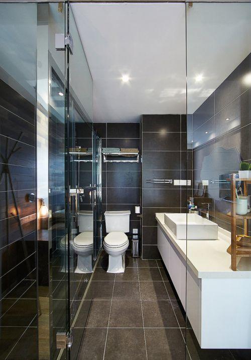 欧式风格清爽卫生间装潢设计美图