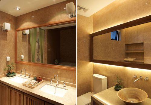 中式装饰卫生间图欣赏