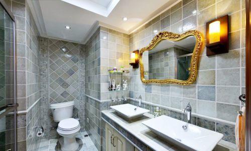 美式现代卫生间设计图片