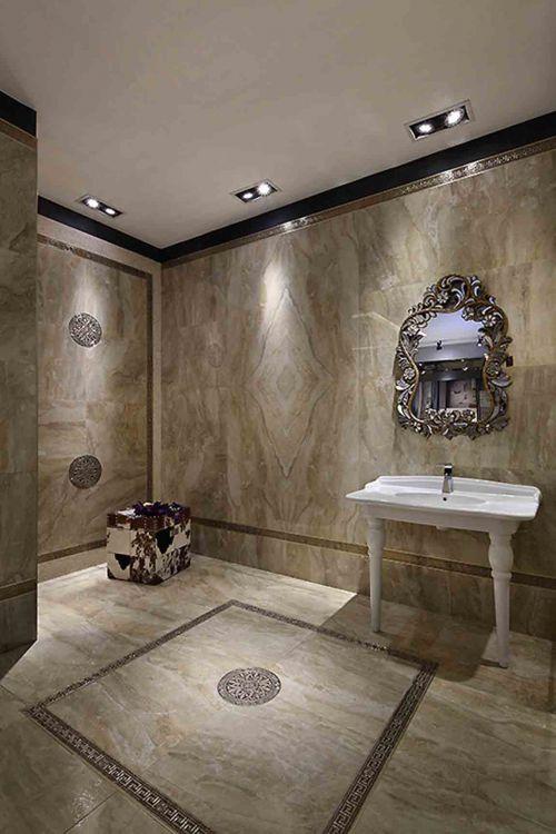 华丽欧式风格卫生间装修展示