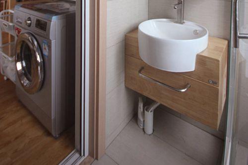 中式风格卫生间效果图设计