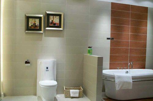 摩登简欧风格卫生间设计效果图片