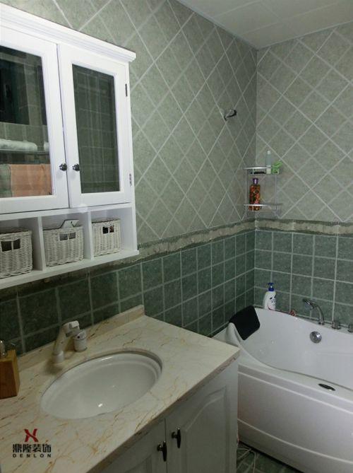 简欧整洁卫生间装潢设计