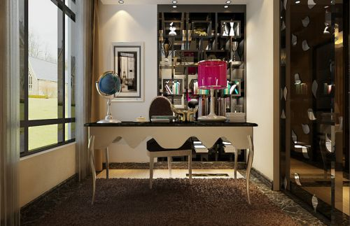 简约风格书房设计装潢