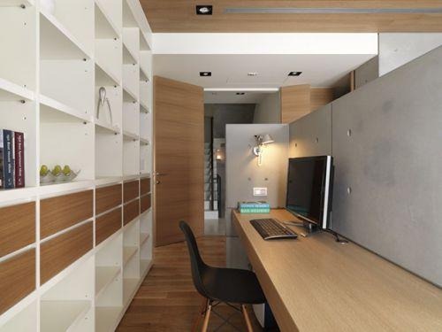 简约装修设计书房装修设计