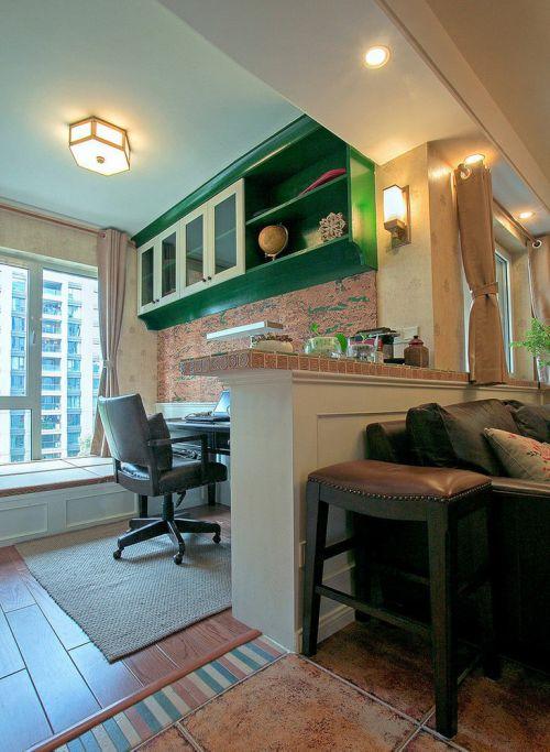 创意摩登混搭书房设计设计