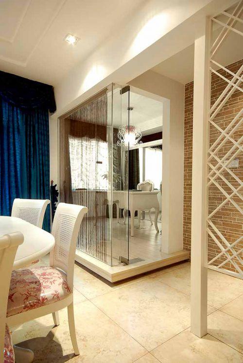 透明立体简欧风书房设计