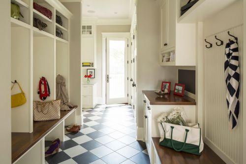 地中海米色玄关设计装潢