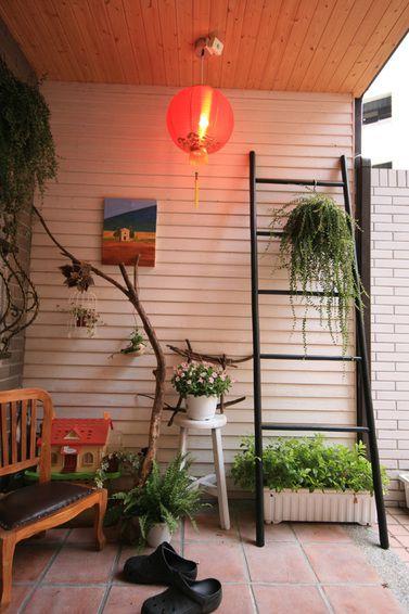 休闲时尚自然现代风格阳台装修
