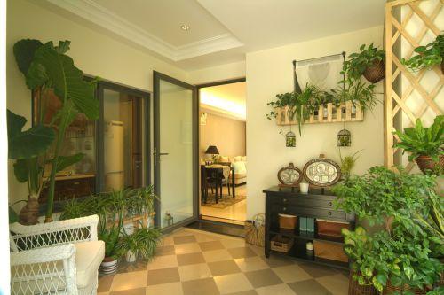 现代家居小花园设计装修