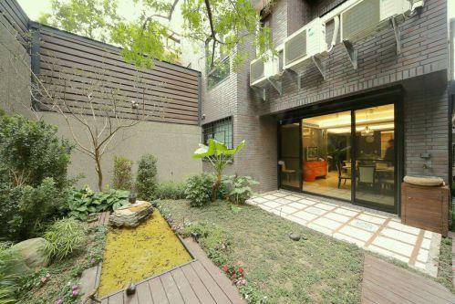 舒适现代风格花园效果图设计
