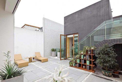 现代时尚花园设计欣赏