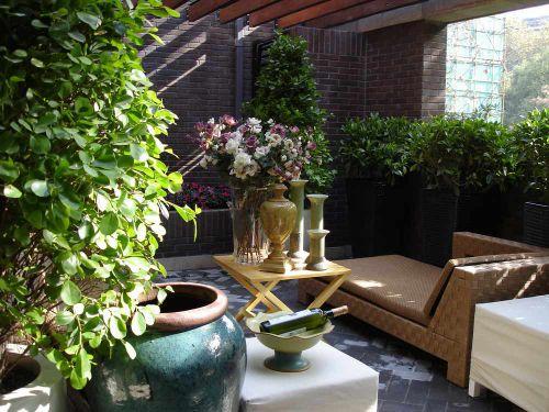自然文艺田园风格花园装修布置