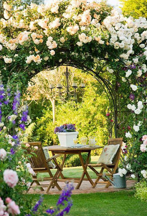 田园式花园欣赏