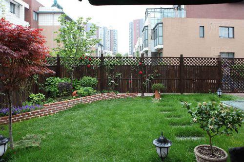 绿色混搭花园设计图片