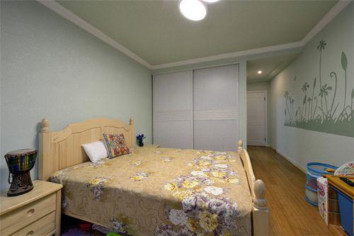 温馨舒适雅致欧式卧室装潢装修