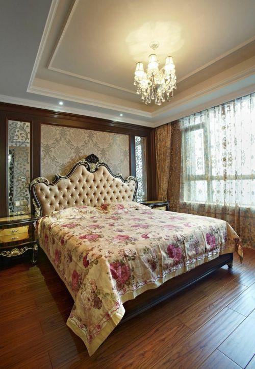 欧式浪漫唯美卧室吊顶效果图欣赏