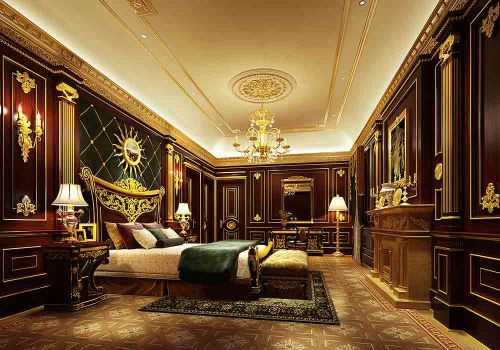 欧式卧室装修效果展示