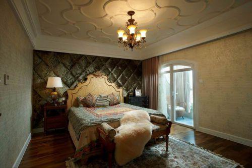 2016欧式奢华卧室装修效果图