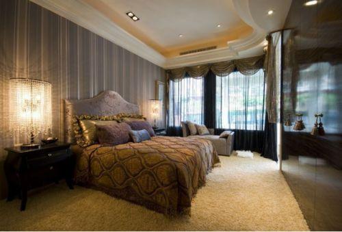温馨唯美时尚欧式卧室装潢赏析