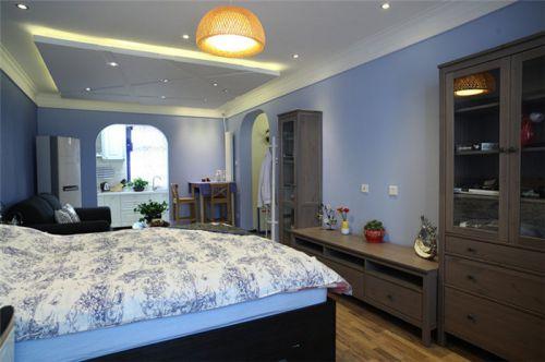 休闲地中海风格卧室装饰案例