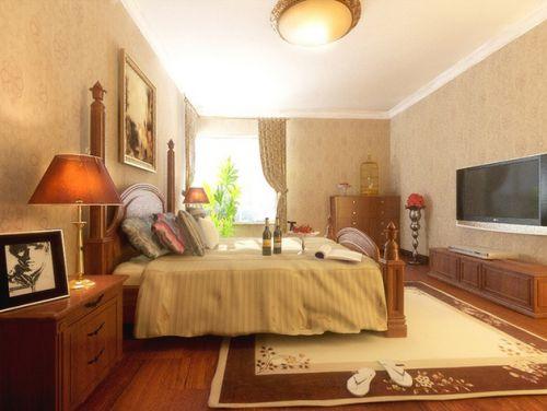 地中海质朴风格卧室装修效果图片