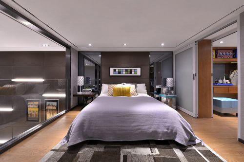 灰色简约风格卧室装修设计欣赏