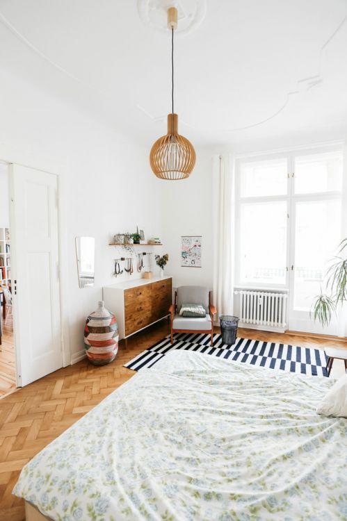 清新简约风格白色卧室欣赏