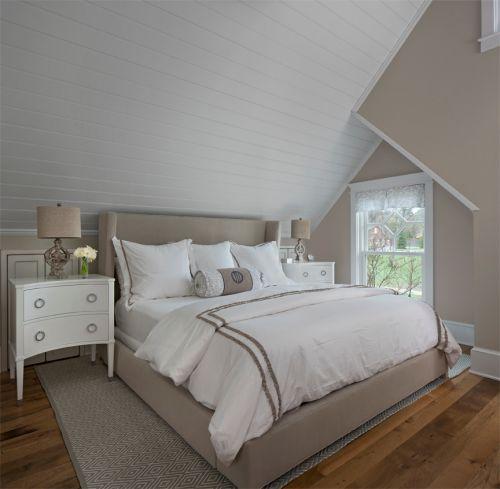 简约风格灰色卧室设计赏析