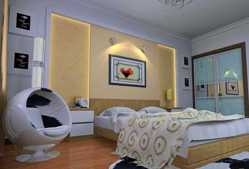 摩登简约风格卧室温馨设计