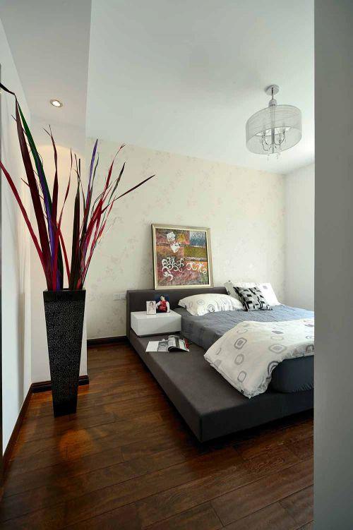2016简约时尚温馨卧室设计图