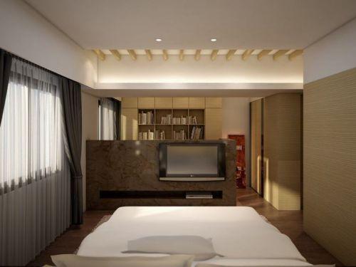 浪漫温馨舒适现代风格卧室装潢装饰图