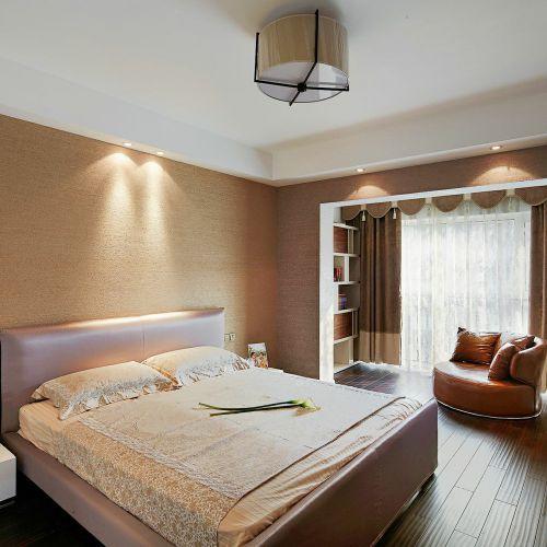 舒适温馨现代风格卧室装修效果图片