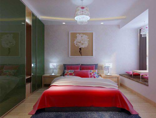 典雅精致现代风格卧室浪漫装饰