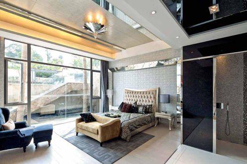 高品质现代风格卧室整体装潢设计