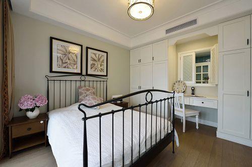 现代风格清新白色卧室装修赏析
