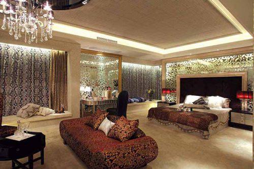 现代欧式卧室装修效设计图